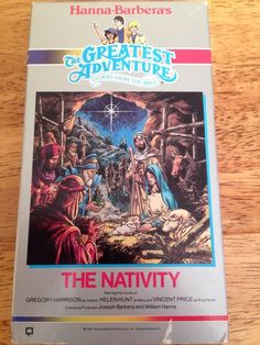 Greatest Adventure Stories From the Bible The Nativity 1987 VHS Hanna Barbera