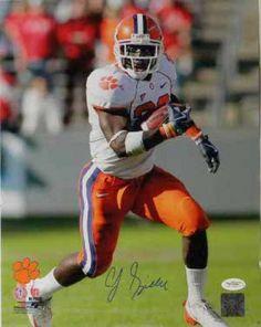 C.J. Spiller Signed 16x20 Photo - JSA #SportsMemorabilia #ClemsonTigers