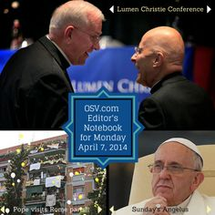 Editor's Notebook — Priests abducted, first Jesuit university laywoman president appointed, Pope Francis' incredible visit to working-class parish, and some cool videos.