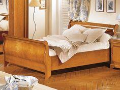 Minet bed Claudia, 180 x 200,koets,style ledikant louis philippe,kersen,draaideurkast met spiegel