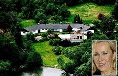 Agnethas Farm in Ekerö , wo sie mit Tochter , Schwiegersohn und ihren Enkelkindern lebt