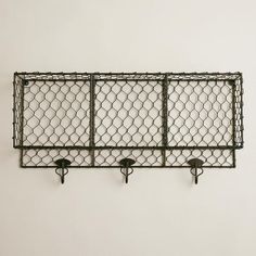 One of my favorite discoveries at WorldMarket.com: Ryan Wall Storage Unit