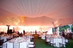 wedding tent decorating ceiling - Google Search