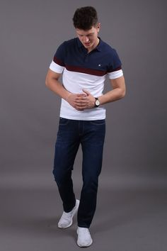 Reinvent your street style & casual work clothing attire with this short sleeve polo shirt for modern gentlemen. When it comes to poor quality, a bori. Fashion Wear, Trendy Fashion, Mens Fashion, Casual Street Style, Work Casual, Modern Gentleman, Preppy Outfits, Short Sleeve Polo Shirts, Weekend Fun