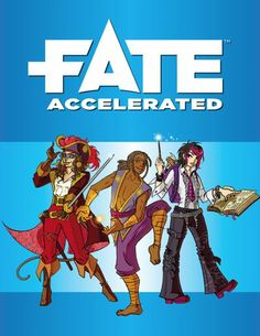Fate Accelerated Edition provides the tools to create cinematic, narrative-driven tabletop RPG adventures.
