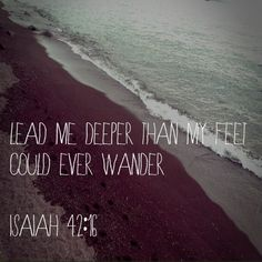 Oceans by Hillsong. POWERFUL song