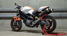 Monster one-off Custom Ducati paint design by Monsta