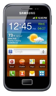 Samsung GT-S7500 Galaxy Ace Plus – Unlocked Phone – International Version – Dark Blue | ($149.99)