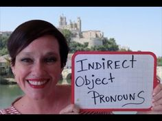 Online French Lessons: Indirect Object Pronouns This week's video lesson will help to simplify French pronouns in the present, past, and future tenses (with negation, too!).