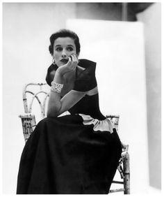 Babe Paley by John Rawlings. Vogue, 1946