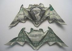 Bat origami.