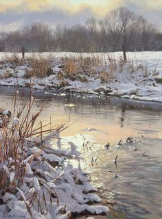Featuring new paintings fresh from the easel, exhibition news and other stuff from Peter Barker RSMA Landscape Drawings, Landscape Art, Landscape Paintings, Landscapes, Canvas Painting Tutorials, Winter Painting, Classic Paintings, Christmas Paintings, Winter Landscape