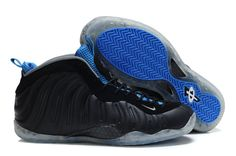 new product 4f25f 14dcc Nike Air Foamposite One Black Blue
