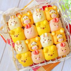 ディズニーツムツムのプーさんと仲間達ちぎりパン♩ Cute Food, Yummy Food, Tsum Tsum Party, Bread Art, Cute Buns, Sweet Bakery, Steamed Buns, Japanese Candy, Food Humor