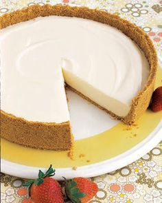 no-bake cheesecake.nothing like a good ol no bake-cheesecake to bring back the memories. mum added sour cream to make it lighter.