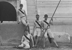 The Athens 1896 Summer Olympic Games (April marked the birth of the Modern Olympics. 1896 Olympics, Us Olympics, Summer Olympics, Olympic Winners, Olympic Team, Olympic Games, Greece Pictures, Pole Vault, Hero's Journey