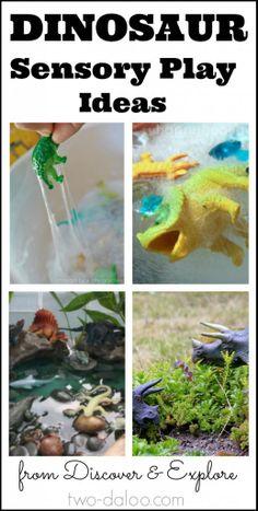 Ten fun dinosaur sensory play activities for kids!