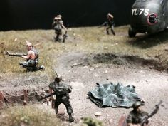 """Diorama 1/72 """"The Rescue"""" Vietnam 1971. By Erik Westberg Made for the Italeri on-line contest 2016"""