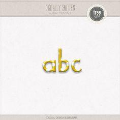 Digitally Smitten Freebie | Digital Design Essentials