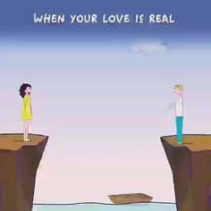 when your love is real Cute Love Gif, Cute Love Quotes, Love Yourself Quotes, Love Quotes For Him, Romantic Good Morning Messages, Romantic Gif, Romantic Love Quotes, Love Is Cartoon Couple, Cute Love Cartoons