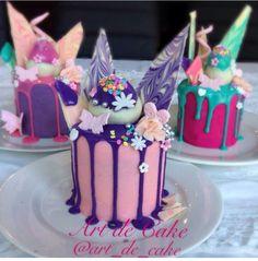 Purple choclate drips, choclate coated strawberries, homeade choclate shards, surgar hearts and flowers