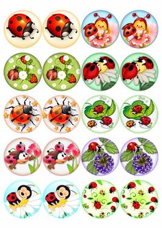(11) Одноклассники Bottle Cap Art, Bottle Cap Crafts, Bottle Cap Images, Diy And Crafts, Crafts For Kids, Arts And Crafts, Paper Crafts, Insect Clipart, Ladybug Crafts