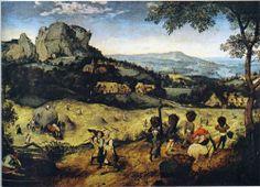 Haymaking, 1565  - Pieter Bruegel the Elder (Flemish, c. 1525-1569) Northern Renaissance