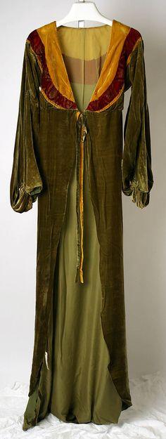 1927 Tea gown by Jessie Franklin Turner, American, via MMA.