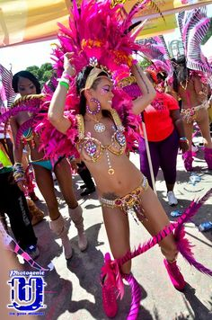 On d road - Trinidad Carnival!