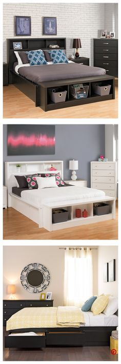 New Diy Home Decor Organization Dorm Room Bed Storage Ideas Home Bedroom, Bedroom Decor, Bedroom Ideas, Bedrooms, Master Bedroom, Diy Pallet Bed, Platform Bed With Storage, Bed Storage, Storage Ideas