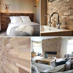 Collectie Panelen van hout, cocos en boomschors by Schoone WOONwensen van Nature @ home, als achterwand van je bed, als natuurlijke sfeermaker in eetkamer of duurzame touch in je badkamer.