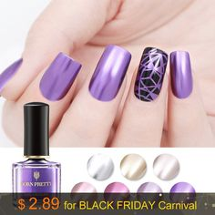 BLACK FRIDAY DEALS: BORN PRETTY New Arrivals – Plus November 2018 Promos, Banners & Black Friday/Cyber Week Deals | #Sponsored #BlackFriday #CyberMonday #BFCM #Promos #Fashion #Holiday #Gifts #Shopping #RTW #Trends #Style #Shop #SALE | Fashion Week Cyber Week Deals, Metallic Nail Polish, Mirror Effect, Black Friday Deals, Holiday Fashion, You Nailed It, Holiday Gifts, Nail Art, Shop Sale