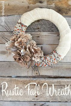 12 Creative Ways to Craft With Burlap This Fall