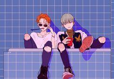 Reasons to ship Yoonmin. © - - ̗̀ Yoonmin Fanart 9 ̖́ - - Page 3 - Wattpad Yoonmin Fanart, Fanart Bts, Fan Art, Kpop Anime, Character Art, Character Design, Bts Drawings, Bts Chibi, Bts Fans
