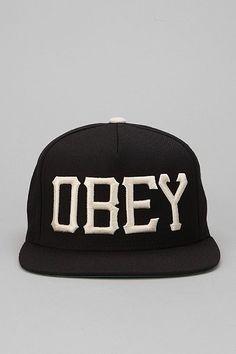 a051a6895ed OBEY Cedar Snapback Hat. Hats ...