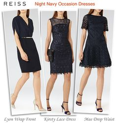 Reiss Navy Occasion Dresses