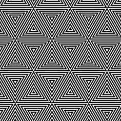 Abstract seamless pattern, black and white floral pattern, geometric seamless ba. - Abstract seamless pattern, black and white floral pattern, geometric seamless ba… – # - Optical Illusions Drawings, Illusions Mind, Optical Illusion Quilts, Illusion Drawings, Cool Optical Illusions, Art Optical, 3d Drawings, Op Art Lessons, Art Lessons Elementary