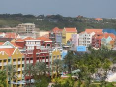 Willemstad, Curacao, in the southern Caribbean