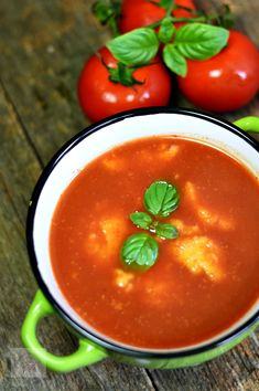 Supa de rosii cu galuste - CAIETUL CU RETETE Cooking Recipes, Healthy Recipes, Healthy Food, Food And Drink, Pudding, Vegan, Vegetables, Desserts, Soups