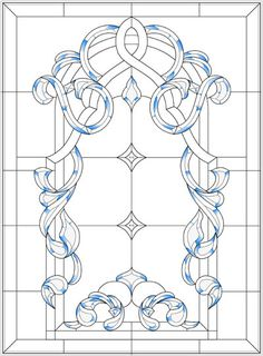 Stained+Glass+Window+Pattern