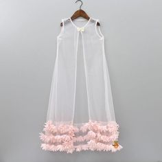 Pre Order: Peach Top And Palazzo Pant With White Shrug | Little Muffet