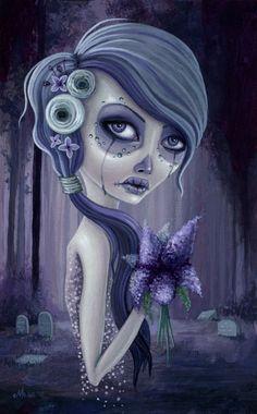 - 2012 - Lilacs in theforest - Megan Majewski