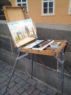 There are s lot of artists in Prague - I like it! #travelontoast #PiaIsTraveling #vitrip