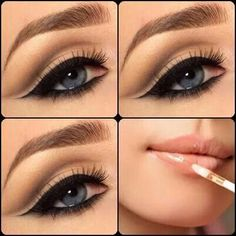Natural cut crease #cutcreasenatural #cutcreasemakeup