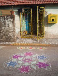 Arte para pisar ( India)