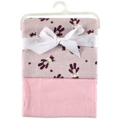 2-Pack Receiving Blankets, Pink 2-Pack Receiving Blankets. 100% Cotton. 30 X 30 Inches.  #Babyfilt #Baby_Product