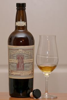 Earl Magnus edition Highland Park  single malt from the Orkneys  http://scotchhobbyist.files.wordpress.com/2010/02/p10005591.jpg