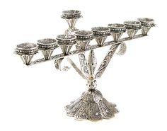 Sale 15 Off  925 Sterling Silver Filigree Hanukkah by adiaart, $520.00