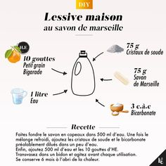 My homemade laundry soap Marseille Safe Cleaning Products, Cleaning Solutions, Cleaning Hacks, Homemade Cosmetics, Cleaners Homemade, Maker, Green Life, Zero Waste, Frugal