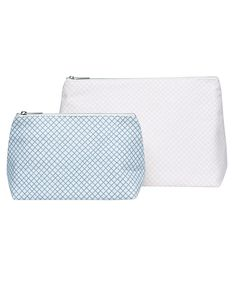 Diagonal Check Wash Bag | http://www.huntingforgeorge.com